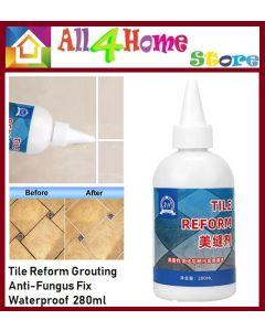 Tile Reform Grouting Anti-Fungus Fix Waterproof 280ml