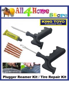 KINGTOYO Plugger Reamer Kit / Tire Repair Kit