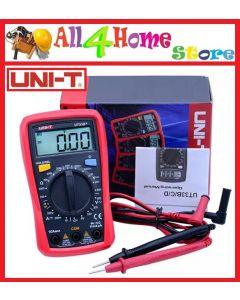 UNI-T UT33B+ Palm Size Digital Multimeter DC AC Voltmeter DC Ammeter Ohmmeter Battery Tester Diode Tester