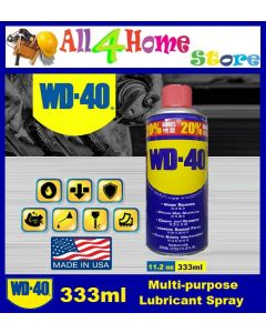 333ml WD 40 Multi Purpose Lubricant Spray / Anti Rust Spray