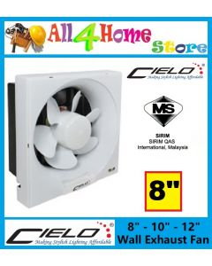 "CIELO 8"" WALL EXHAUST FAN EF-8/APB20A/CIE"