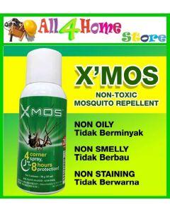 X'Mos Mini Aerosol Repellent - Non Toxic (50g x 83ml)