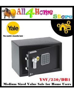 YALE YSV/250/DB1 Medium sized value safe box for home users